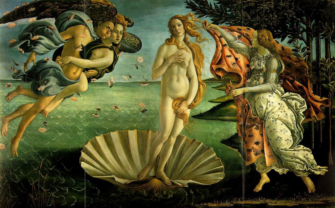 Botticelli Geboorte_Venus